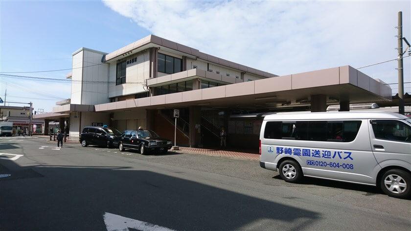 すぐ南にある、JR学研都市線「四条畷駅」に寄ってみた